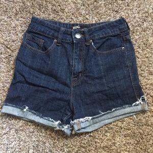 BDG high waisted denim shorts size 26